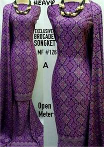 Songket printed high quality