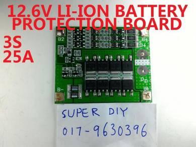 12.6V 25A Li-ion Lithium Protection PCB BMS Board