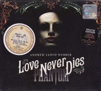 ANDREW LLOYD WEBBER Love Never Dies Phantom CD+DVD