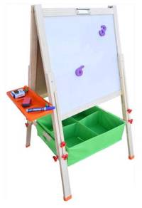 Whiteboard Easel (Basket/Trays)