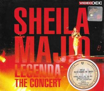 Sheila Majid 1992 Legenda The Concert VCD