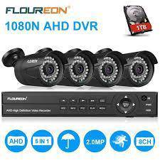 Cctv 2mp 8ch 6 in 1 recoder