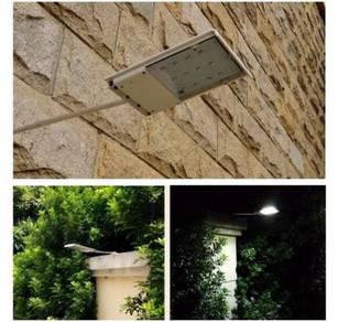 Lampu Laman Rumah Solar LED Sensor Kalis Cuaca