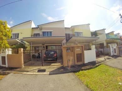 Open facing 2 Storey superlink, Oleander type Bandar Seri Coalfields