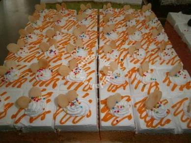 Orange Slice Sponge cake