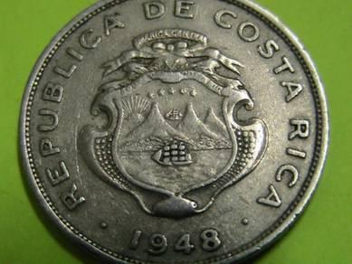 Costa Rica 50 Centimos 1948