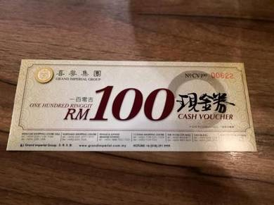 Grand Imperial voucher CNY can use