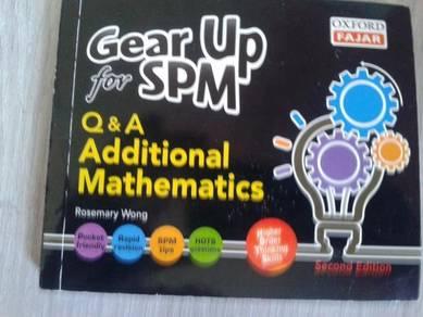 Q & a additional mathematics gear up for spm