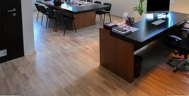 PVC Wood Vinyl Flooring * Installation Laminate