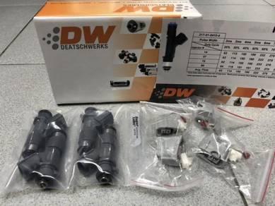 DW Deatschwerks Bosch RDX 410cc Injectors K20A