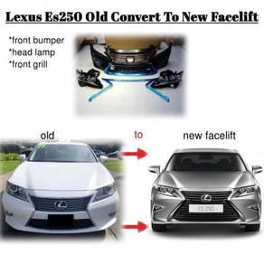 Lexus Es250 Conversion facelift f-sport bumper