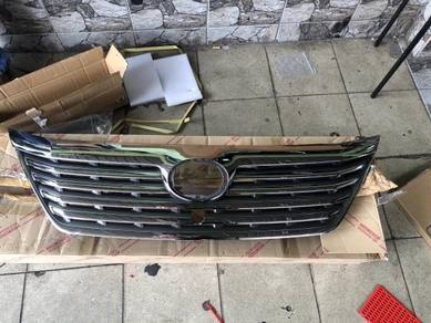 Toyota vellfire front grill grille W CAMERA HOLE