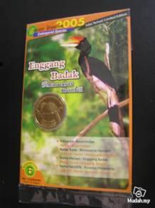 Coin series burung no.6