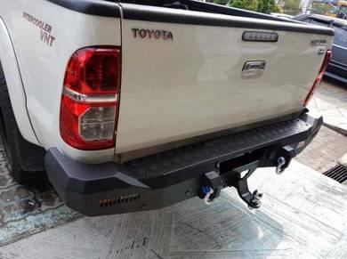 MMc rocker rear bar rear bumper for 4x4 hilux