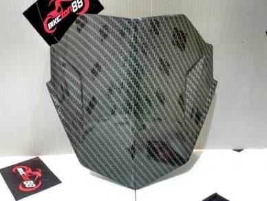 Yamaha Y15ZR Magneto Windshield (cap visor)