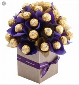 Coklat box bouquet