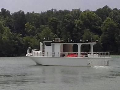Full fiber boat 56ft