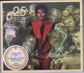 MICHAEL JACKSON Thriller 25th Anniversary CD+DVD