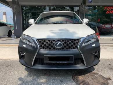 Lexus rx270 rx350 convert bumper facelift bodykit