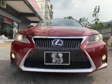 Lexus Ct200h convert facelift bodykit bumper ct200