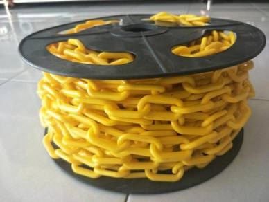 6MM x 25 METER Plastic Chain - YELLOW