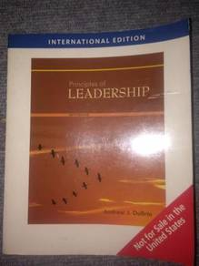 Principles of Leadership by Andrew J. DuBrin