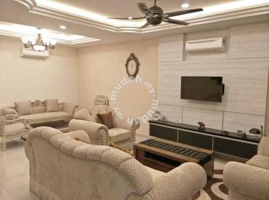 Cantik!!! fully renovated & fully furnished 2 storey corner for sale