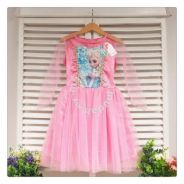 Style Charming FROZEN DRESS- New Arrival 301005