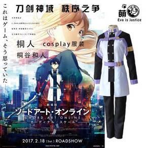 Anime SAO ordinalscale kirito cosplay coutume