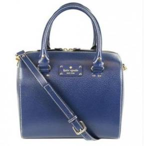 Kate Spade New York Wellesley Alessa Satchel -Navy