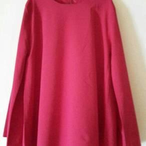 Blouse Merah Saiz L