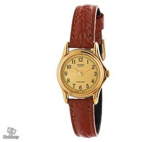 Watch - Casio Leather LTP1096-9B - ORIGINAL