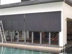 Heavy Duty Outdoor Roller Blinds