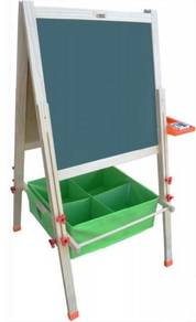 Whiteboard Easel - Basket/Trays