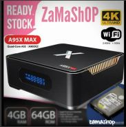 A95x max 4g/64g Android tv box best performance