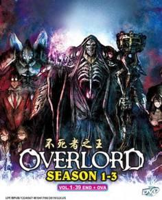 Overlord Sea 1-3 Vol.1-39 End + OVA Anime DVD