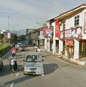 Dato Keramat 2sty Shop, Commercial Title, Fully Concrete, Georgetown