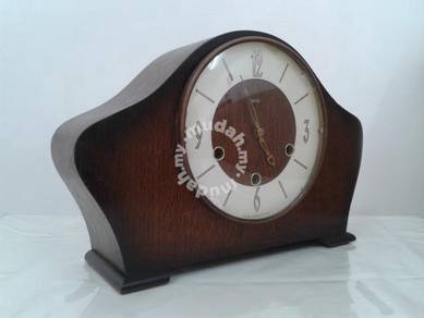 Antique smiths 3 holes mantle clock