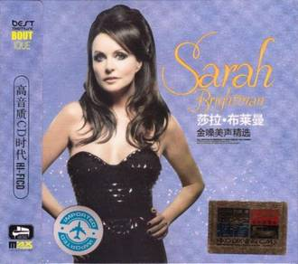 IMPORTED CD SARAH BRIGHTMAN Golden Voice 3CD