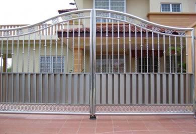Stainless Steel Gate Auto system pintu pagar