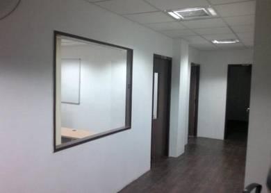 Partition | Glass Aluminium | Ceiling | Carpet