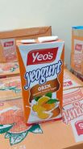 Air Kotak Yeos Perisa Yogurt Oren 1 Liter