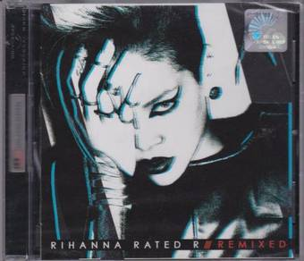 CD Rihanna Rated R Remixed
