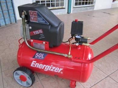 Energizer 2.5HP 50Litre Direct Air Compressor
