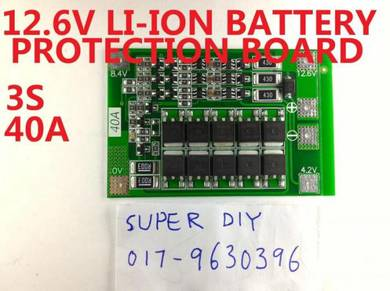 12.6V 40A Li-ion Lithium Protection PCB BMS Board