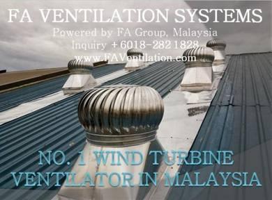 KYLEC No.1 Wind Turbine Ventilator SUNGAI PETANI