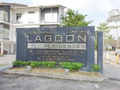 Shah Alam, Bukit Rimau, Kota Kemuning, Lagoon Residense, P/Furnish