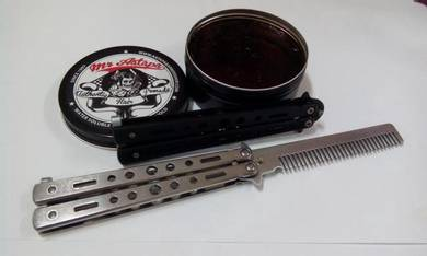 Pomade free switch comb