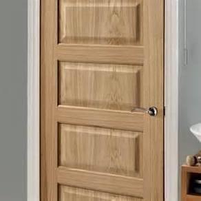 Wooden solid door