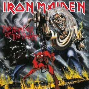 Iron Maiden The Number Of The Beast 180g LP